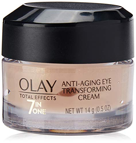Olay Total Effects 7-In-One Eye Transforming Cream 0.5 Ounce (15ml) (2 Pack) (Olay Total Effects Eye Cream 7in1 Anti Aging)