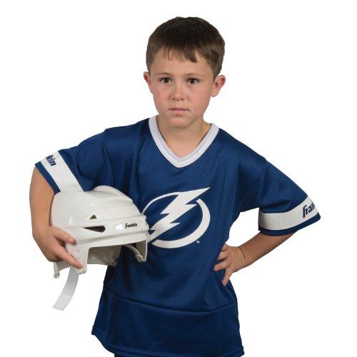 [Franklin Sports NHL St. Louis Blues Youth Team Uniform Set] (Sports Day Costume Ideas Blue)