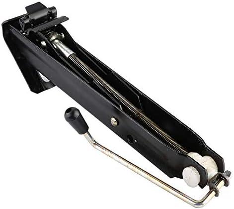 KIMISS 0.6Tカーリフティング手動式ジャック自動車用リフター車両用ジャック修理ツールブラック