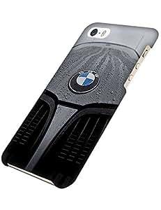 Pretty diseño BMW Car Logo Case Iphone 5s Case Protective Cheap Thin Slim Shell Iphone 5 3D negra For Women