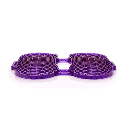 Purple Everywhere Seat Cushion - Seat Cushion for The Car Or Office Chair - Can Help in Relieving Back Pain & Sciatica Pain