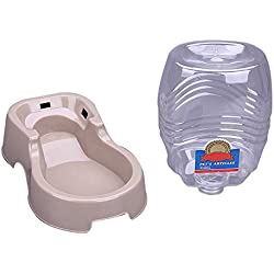 Cheng-store Cats Dogs Automatic Pet Drinking Machine Pet Drinker Water Feeder Dog Drinking Bowl