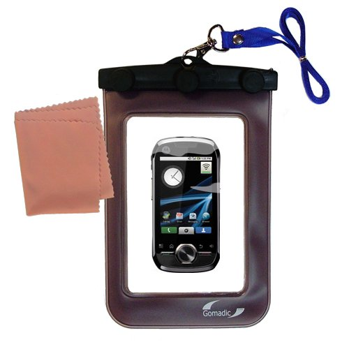 underwater case for the Motorola Opus One - weather and waterproof case safely protects against the elements (Strap Opus)