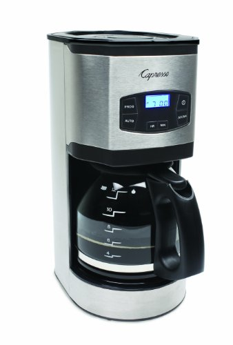 Capresso 494.05 12-Cup Stainless Steel Coffee Maker SG120, Stainless/Black by Capresso