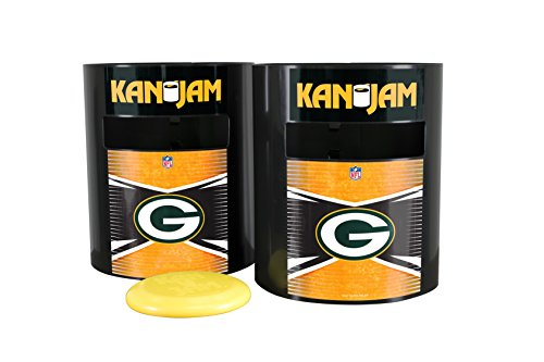 Kan Jam NFL Green Bay Packers Disc Gamegreen Bay Packers Disc Game, Team Color, 11.875