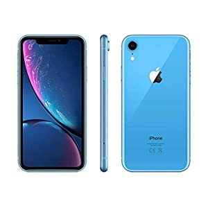 Apple iPhone XR, 64GB, Blue – For GSM (Renewed)