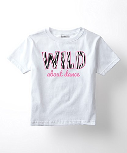 - Instant Message Wild About Dance - Toddler Short Sleeve Tee Shirt