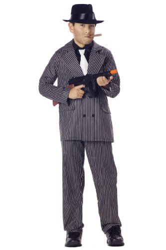 California Costumes Toys Gangster, Medium