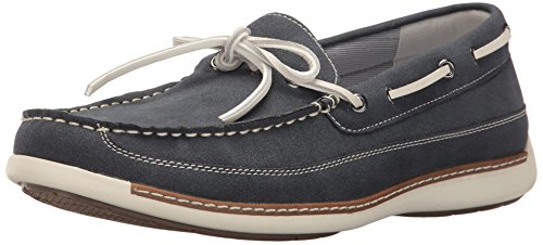 Izod Tout En Mocassins Slip-on Navy En Daim