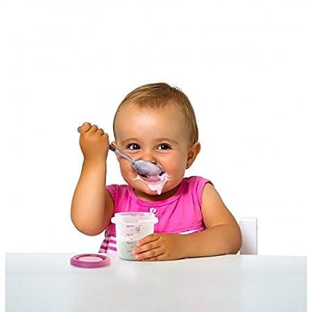 Miniland Baby Hermisized Aufbewahrungsdosen-Set f/ür Nahrung