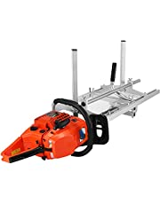 """VEVOR Chainsaw Mill Planking Milling 14 to 36 Inches Guide Bar Wood Lumber Cutting Portable Sawmill Aluminum Steel Chainsaw Mill for Builders and Woodworkers (14"""" to 36"""")"""