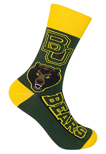 Primus Campus Baylor University Bears Crew Socks - Officially Licensed Collegiate Product