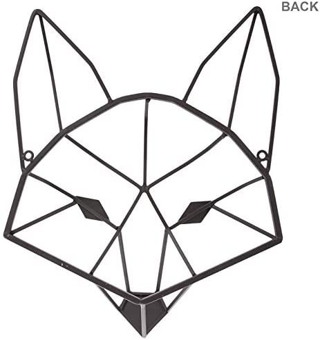 3d prints sculpture fox statue geometric sculpture fox figurine 3d fox 3d printed fox sculpture gift wire sculpture 3d printed fox