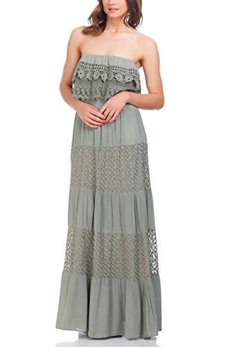 Pleated Woven Silk Dress - 4