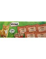 Kitekat Kattenvoer, natvoer in handige 100-gram-portiezakjes, verschillende soorten