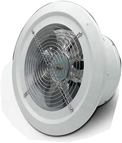 XDDDX ラウンドパネル排気ファン、ホーム換気ファン浴室のガレージ排気ファンのオープンとウォールマウントパイプブースター換気ファン