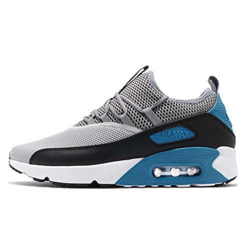 Nike Air Max 90 EZ Men's Shoes Wolf Grey/Cool Grey/Black/Laser Blue/White ao1745-004 (13 D(M) US)