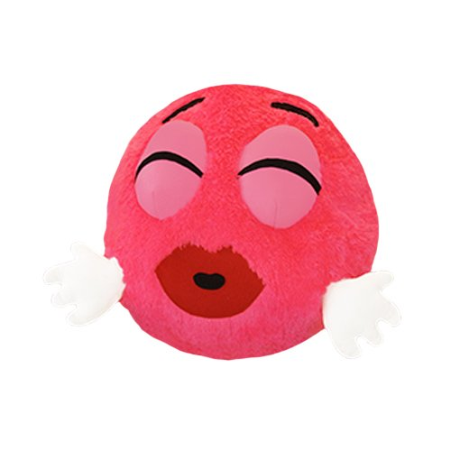 Pink Moodie II The Smooch Emoji Collectible Toy 15.5