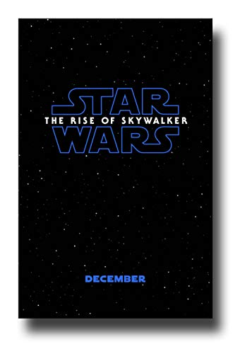 Skywalker Poster - Star Wars The Rise of Skywalker Poster Movie Promo 11 x 17 inches SW 9 Nine 1st
