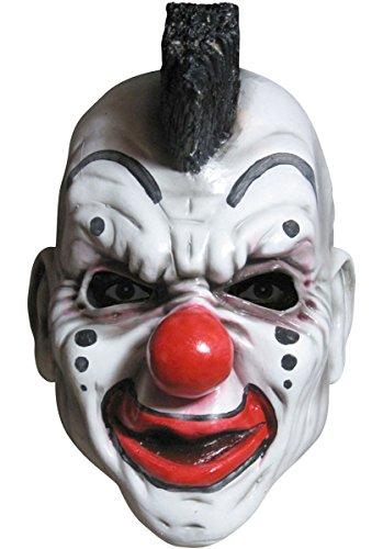 Slipknot Deluxe Overhead Clown Mask, Black, One Size