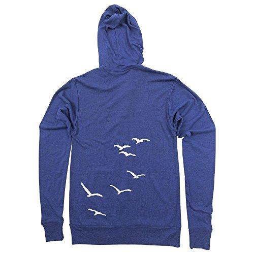 Seagulls Unisex Lightweight Zip-Up Hoodie