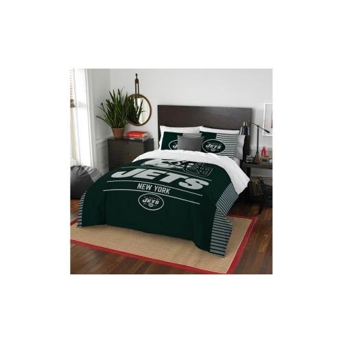 NFL New York Jets Draft Full/Queen Comforter and 2 Sham - In Ny Queens Stores
