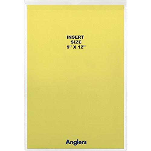 Anglers Clear Envelope Vinyl - Anglers Sturdi-Kleer Vinyl Envelopes with Flaps, 9