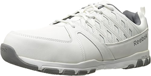Reebok Work Men's Sublite Work White 9 D US