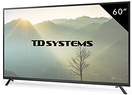 TD Systems - Televisores Led Full HD 60 Pulgadas K60DLT7F (Resolución 1920x1080/ HDMI x3/ VGA x1/ USB Reproductor y Grabador) TV, Televisiones HD (Reacondicionado Certificado): Amazon.es: Electrónica