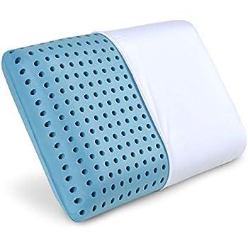 Amazon Com Marcapiuma Gel Memory Pillow Wave Shaped