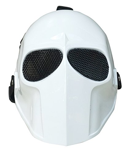 Invader King WHITE Airsoft Mask Army of Two Protective Gear Outdoor Sport Fancy Party Ghost Masks Bb Gun
