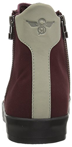 Recreation Burgundy Creative Men's Fashion Carda Dark Black Hi Sneaker 1wTZqp