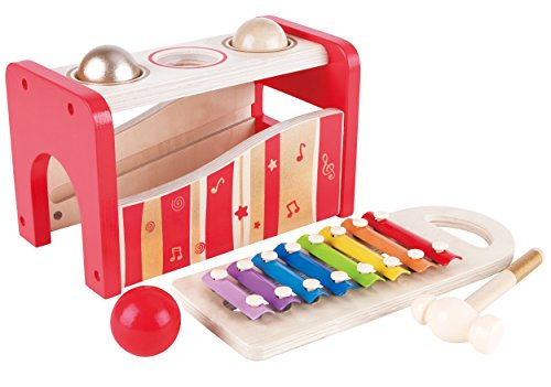 Hape-Pound-and-Tap-Bench-Music-Set-30th-Anniversary-2016-LIMITED-EDITION
