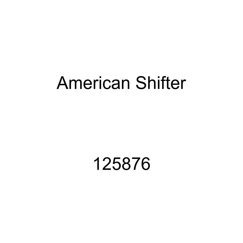 Black Cowboy Eyes American Shifter 125876 Green Stripe Shift Knob with M16 x 1.5 Insert