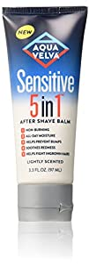 Aqua Velva Sensitive 5 in 1 After Shave Balm, 3.3 Fluid Ounce