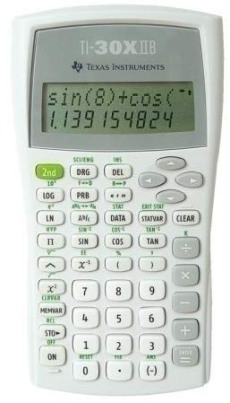 Texas Instruments TI-30XIIB Scientific Calculator