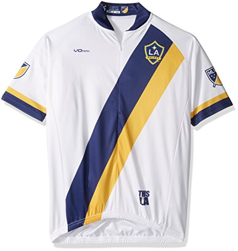 MLS Los Angeles Galaxy Men s Primary Short Sleeve Cycling Jersey c46ff4aa0