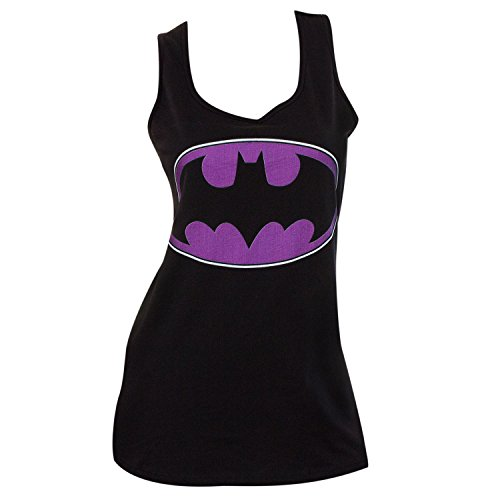 Batman+tank+top Products : Batman Purple Logo Womens Tank Top