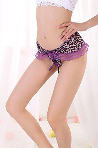 Mme de sous-vêtements, la fourche ouverte sous-vêtements et de tempérament Mme dentelle pantalon T, 1168 red rose