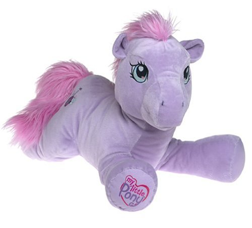 Amazon Com Jumbo 25 Plush My Little Pony Sweetsong Toys Games