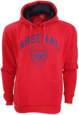 アーセナル フットボールクラブ Arsenal FC オフィシャル メンズ プルオーバー フーディー スウェットシャツ パーカー トップス トレーナー 男性用