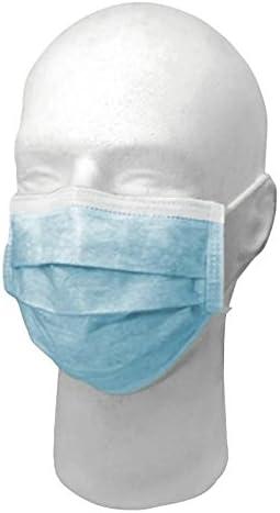 masque chirurgical bleu