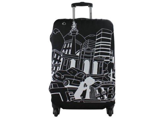Salvador Bachiller - Madrid Universal Tasche M - Complementos Viaje LG08 - Schwarz