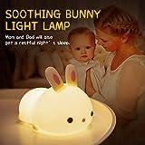 Cute Bunny Kids Night Light, Bunny Light Cute Lamp
