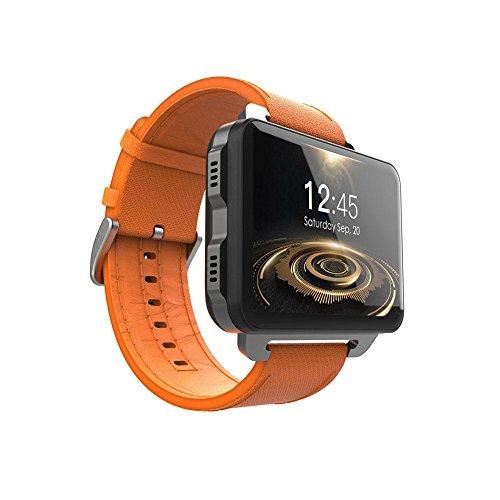 LEMFO LEM4 Pro Smart Watch Phone Support GPS SIM Card MP4 Bluetooth WiFi Smartwatch Supper Big Screen Battery 1GB +16GB Watch for iOS iPhone Android Phones Samsung LG Huawei Men Women Kids