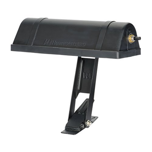 Humes & Berg E-Z Clamp On Music Stand Light Black (Humes Berg & Stand)