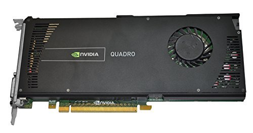 HP NVIDIA Quadro 4000 2GB GDDR5 PCI Express 2.0 x16 Graphics Card