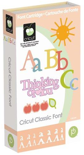CRICUT CLASSIC FONT Create Expression Machine Cartridge