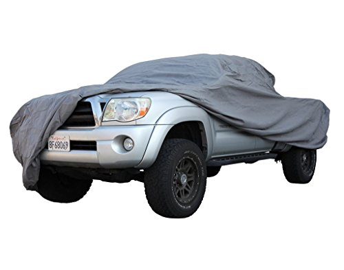 XtremeCoverPro Platinum Series Waterproof 100% Breathable Car Cover for Selected Chevrolet Silverado 2500HD Crew Cab 6.5ft Short Bed 2003 2004 2005 (Platinum Gray)