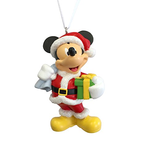 hallmark disney mickey mouse as santa claus christmas ornament - Animated Christmas Ornaments